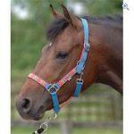 Cottage Craft Aurora Head Collar – Size: FULL – Colour: BLUE-RED