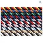 Cottage Craft Multi Coloured Deluxe Lead Rope – Colour: BLACK-GREY-WHIT