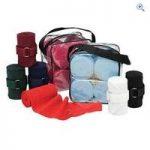 Cottage Craft Elasticated Exercise Bandages (set of 4) – Colour: Black